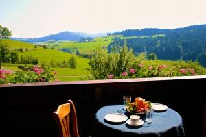Balkon Ferienwohnung Hochgratblick