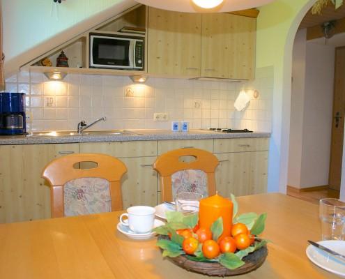 Küche Ferienwohnung Jugetblick
