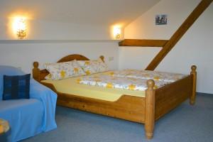 Wohn-Schlafzimmer Ferienwohnung Hochgratblick