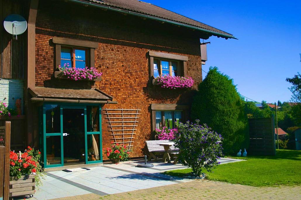 Eingangsbereich Ferienhof Gomm